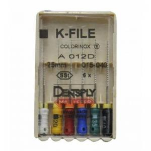 Dent Dentsply Maillefer K-FILE 25mm 015-040