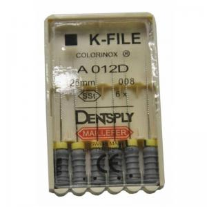 Dent Dentsply Maillefer K-FILE 25mm 008